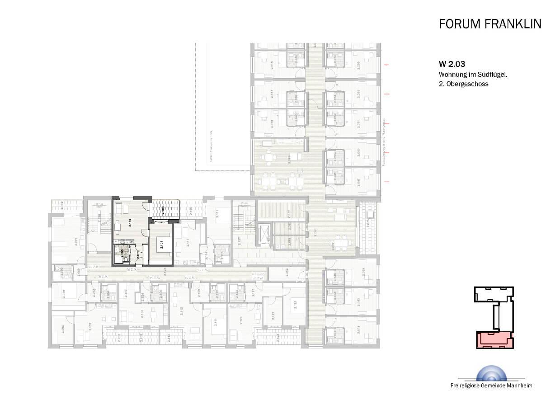 Service-Wohnen 2 Zimmer-Wohnung ca. 56 m²